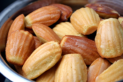 Le madeleines