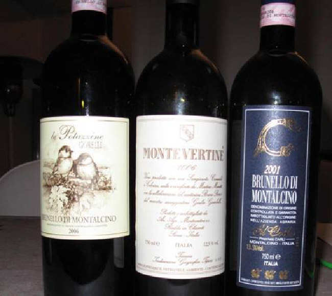 I Brunello di Le Potazzine e Carli, il Montevertine