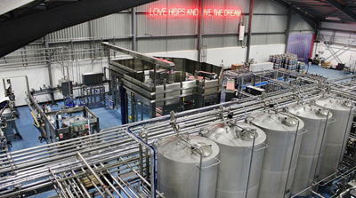 Ellon Brewery interno