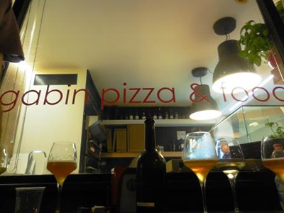La vetrina di Gabin Pizza & Food