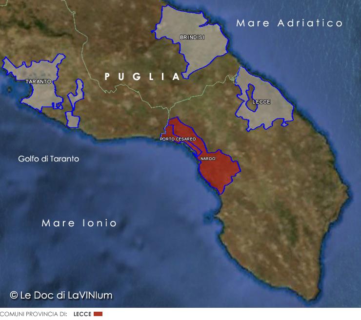 Cartina Puglia Nardo.Doc E Docg Della Puglia Lavinium Page 3