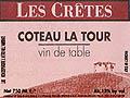 Coteau La Tour Les Cretes
