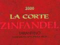 Zinfandel 2000 La Corte