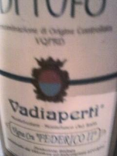 Etichetta Vadiaperti