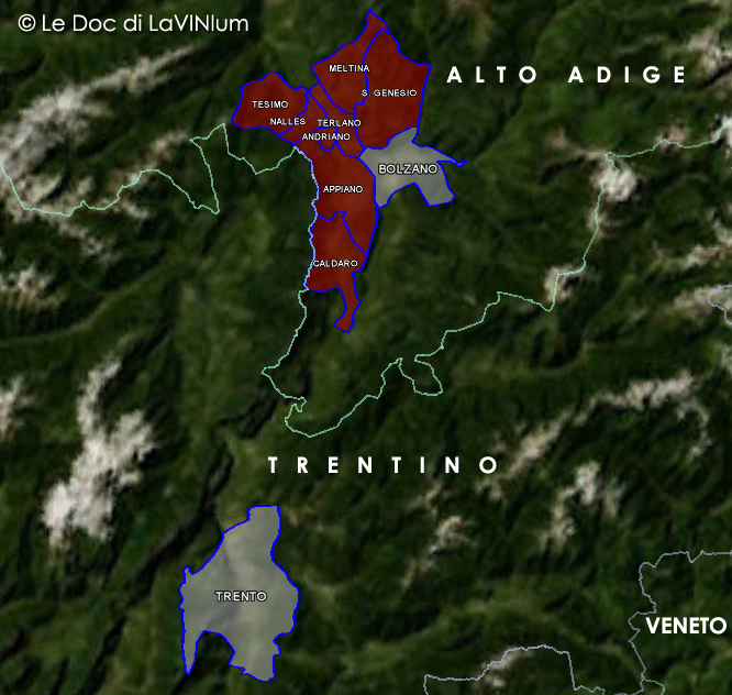 Le Doc dell'Alto Adige: Alto Adige Sottozona Terlano (Südtirol Terlaner)