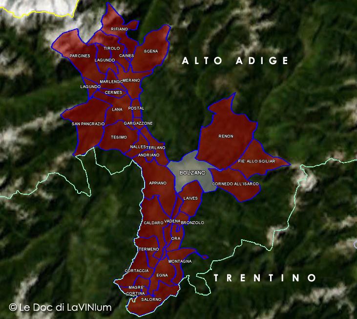 Le Doc dell'Alto Adige: Valdadige