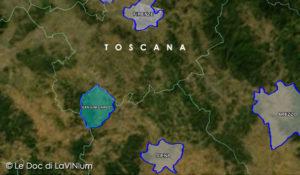 Mappa Docg San Gimignano