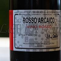 Rosso Arcaico Andrea Occhipinti