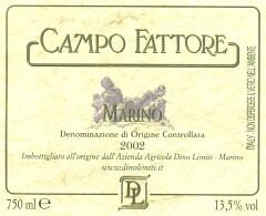 Marino Campo Fattore 2002