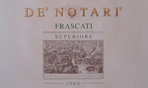 Frascati Superiore De' Notari 2004