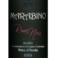 Eloro Nero d'Avola Rosa Nera 2009