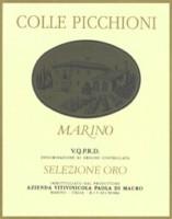 Marino Colle Picchioni Selezione Oro 2001
