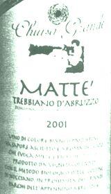 Trebbiano d'Abruzzo Matte' 2002