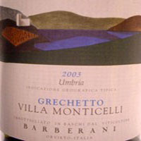 Grechetto Villa Monticelli 2003