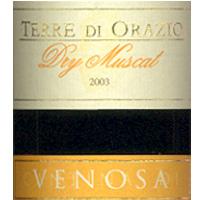Terre di Orazio Dry Muscat 2003
