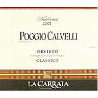Orvieto Classico Poggio Calvelli 2001