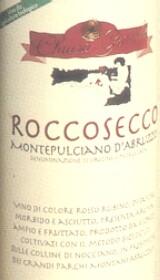 Montepulciano d'Abruzzo Roccosecco 2000