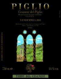 Cesanese del Piglio Trifora 2003