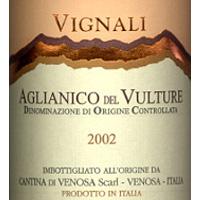 Aglianico del Vulture Vignali 2002