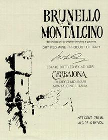 Brunello di Montalcino 1990