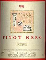 Pinot Nero Case Via 1999