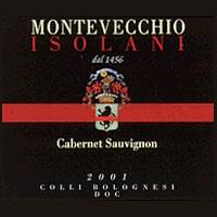 Colli Bolognesi Cabernet Sauvignon (etichetta nera) 2001