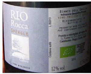 Rio Rocca Spèrgle Frizzante 2012