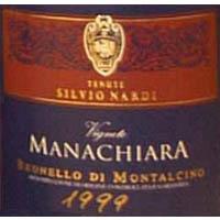 Brunello di Montalcino Vigneto Manachiara 1999
