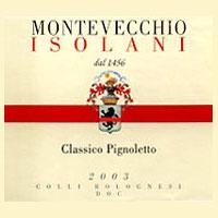 Colli Bolognesi Pignoletto Frizzante 2003