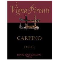 Lacryma Christi del Vesuvio Rosso Carpino 2008