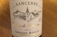 VINerdì Igp, il vino della settimana: Sancerre Clos de Beaujeu 2012 Gérard Boulay