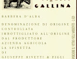 Barbera d'Alba Vigneto Gallina 1996