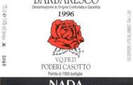 Barbaresco Riserva Casot 1996
