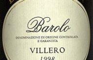 Barolo Villero 1998