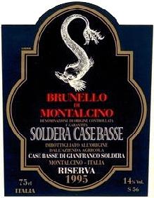Brunello di Montalcino Case Basse Riserva Soldera
