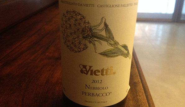Langhe Nebbiolo Perbacco 2012 - Vietti