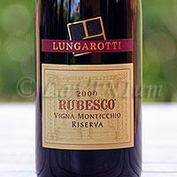Torgiano Rosso Rubesco Vigna Monticchio Riserva 2000 Lungarotti