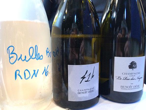Gli Champagne di Benoit Dehu
