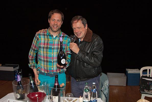 Benoit Marguet con l'autore