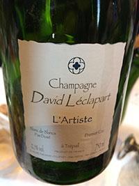 David Leclapart L'Artiste Premier Cru