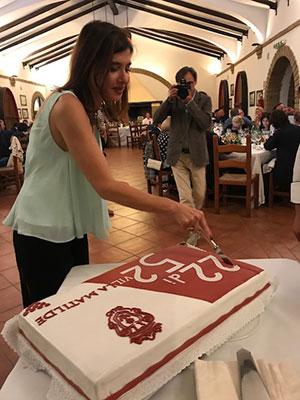 Taglio della torta