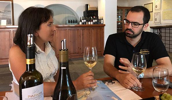 Carmen Guerriero con il dott. Savvas Moraitis