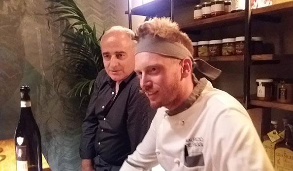 Antonio Iannuzzi e Maurizio De Riggi