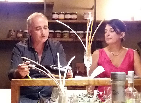 Antonio Iannuzzi e Marina Alaimo
