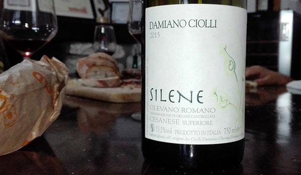 Cesanese Superiore Silene 2015 Damiano Ciolli