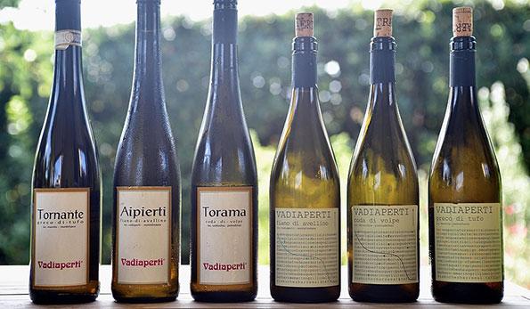 I vini bianchi di Vadiaperti Traerte