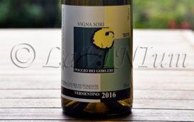 Produttori, un vino al giorno: Riviera Ligure di Ponente Vermentino Vigna Sorì 2016 - Poggio dei Gorlieri
