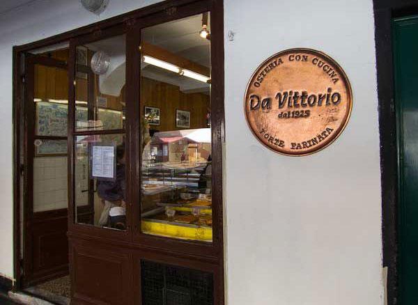Entrata Osteria Da Vittorio