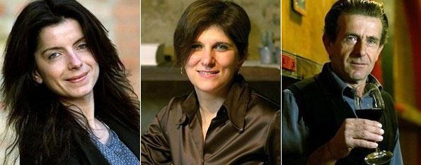 da sinistra Sara Pizziconi, Renata Guerrini e Vannino Rossi