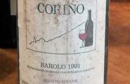 VINerdì Igp, il vino della settimana: Barolo Vigneto Rocche 1991 - Corino